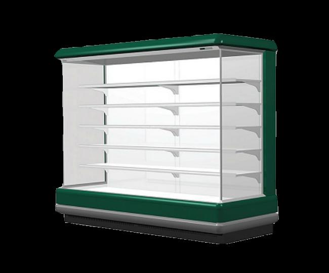 Chiller Cabinet Supermarket untuk Sayur dan Buah