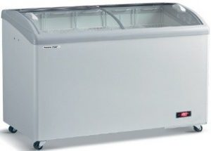 Curve Glass Freezer Panasonic