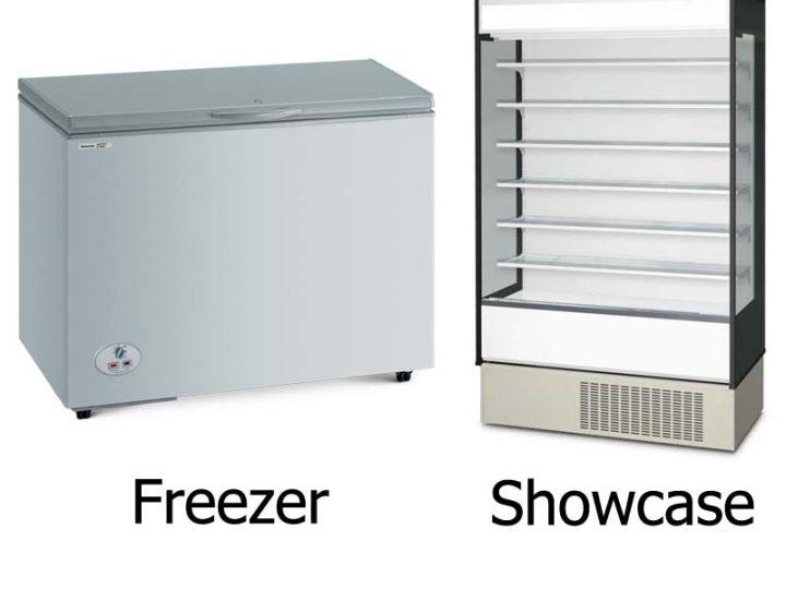Perbedaan Freezer dan Showcase