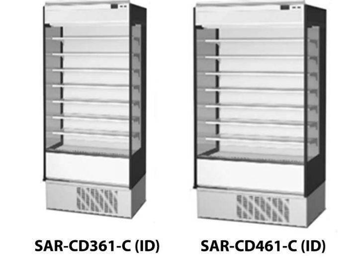 Cara Membersihkan Showcase SAR-CD361 DAN SAR-CD461