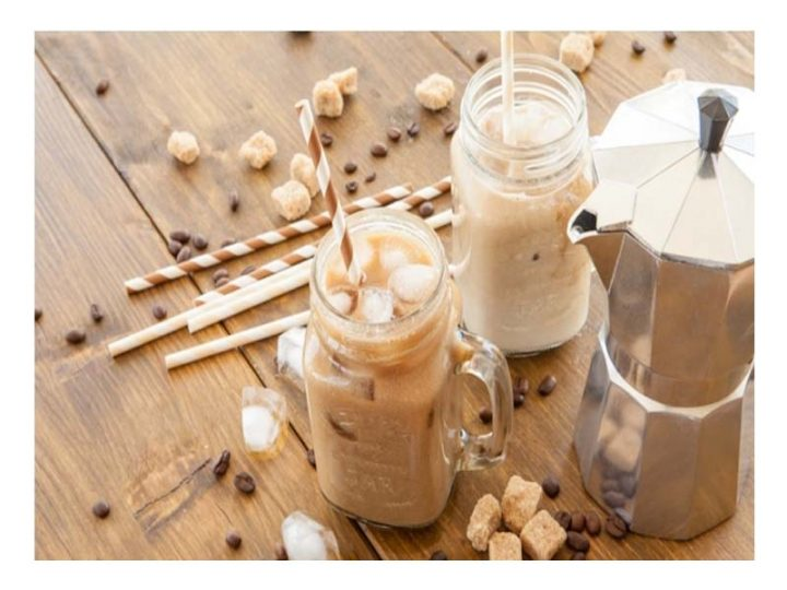 Membuat Es Kopi Susu Kekinian